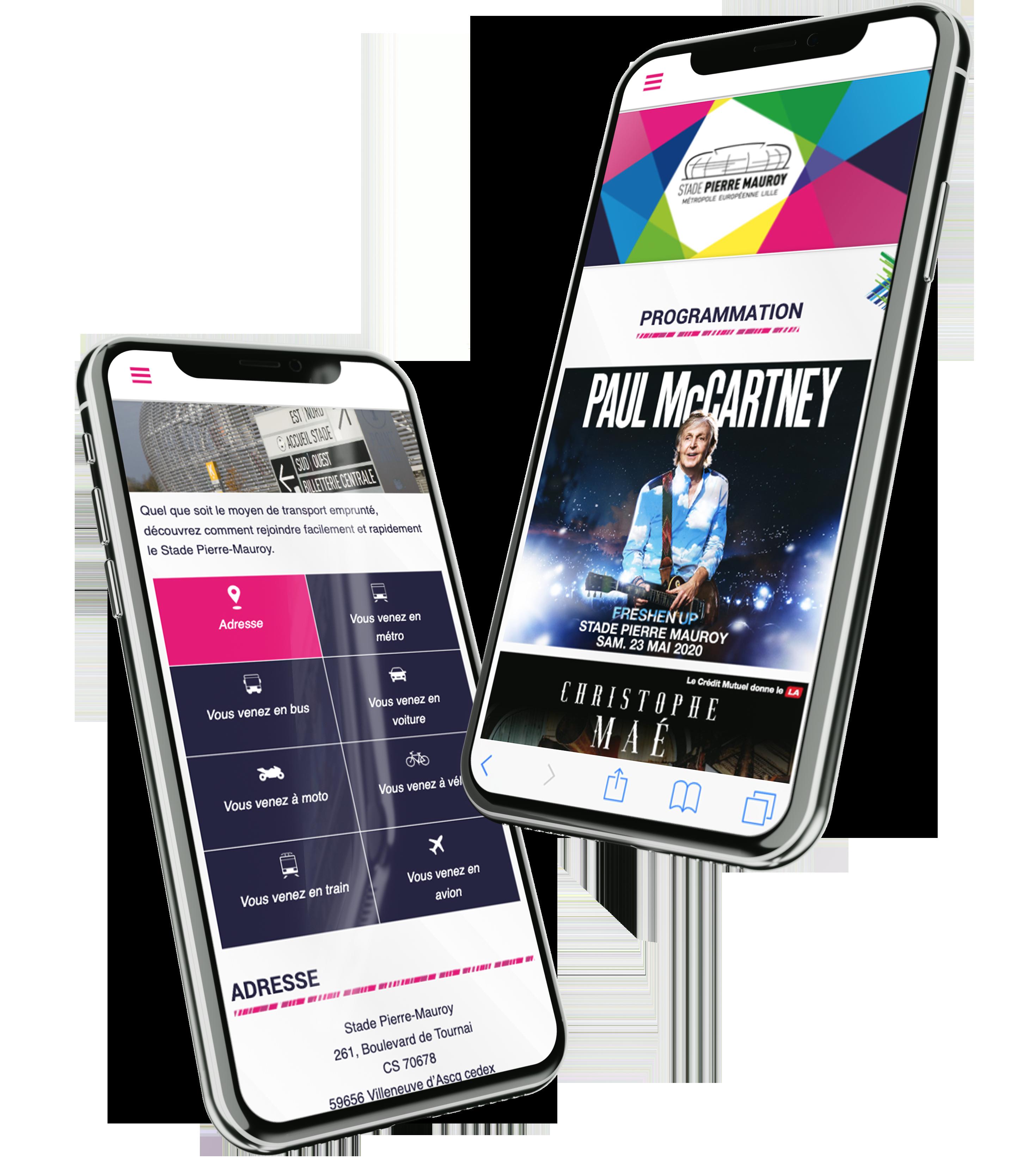 mobile mockup SPM